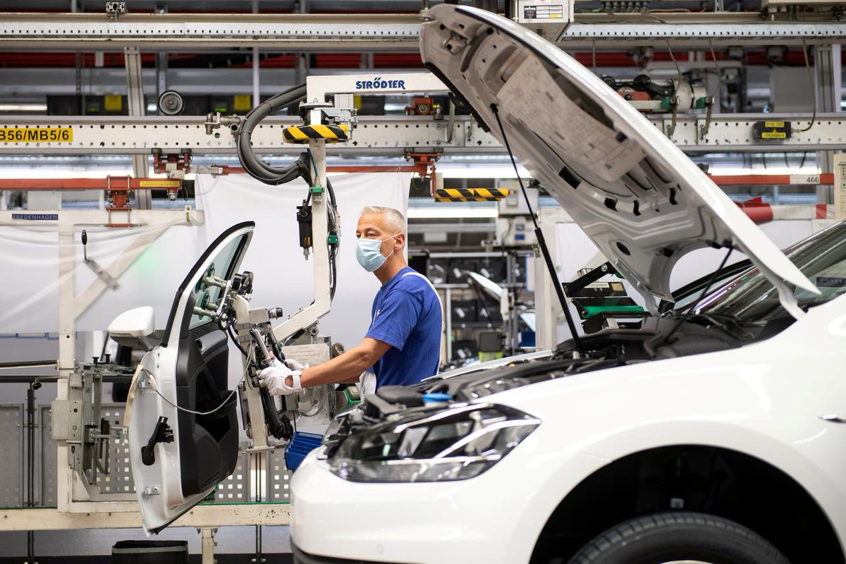 German industrial output and exports surged in June, driven by the country's all-important car industry, as the economy continued to recover after the shock of the coronavirus pandemic. via AFP #ntvmoneyandmarkets #renatedmedia #NTVNewspic.twitter.com/7gRzLAgu9g