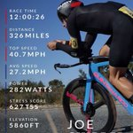 A huge congratulations to the amazing #TORQFuelled Joe Skipper who broke the British 12-hour record on Sunday. Look at those stats!