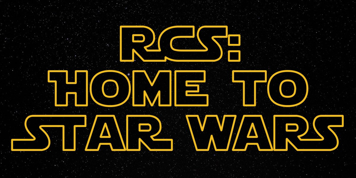 7 reasons why RCS is the home of #StarWars 🚀- Our latest Blog is live - enjoy it, you will!   https://t.co/qZXz9bhVQC https://t.co/A1zJQaazls