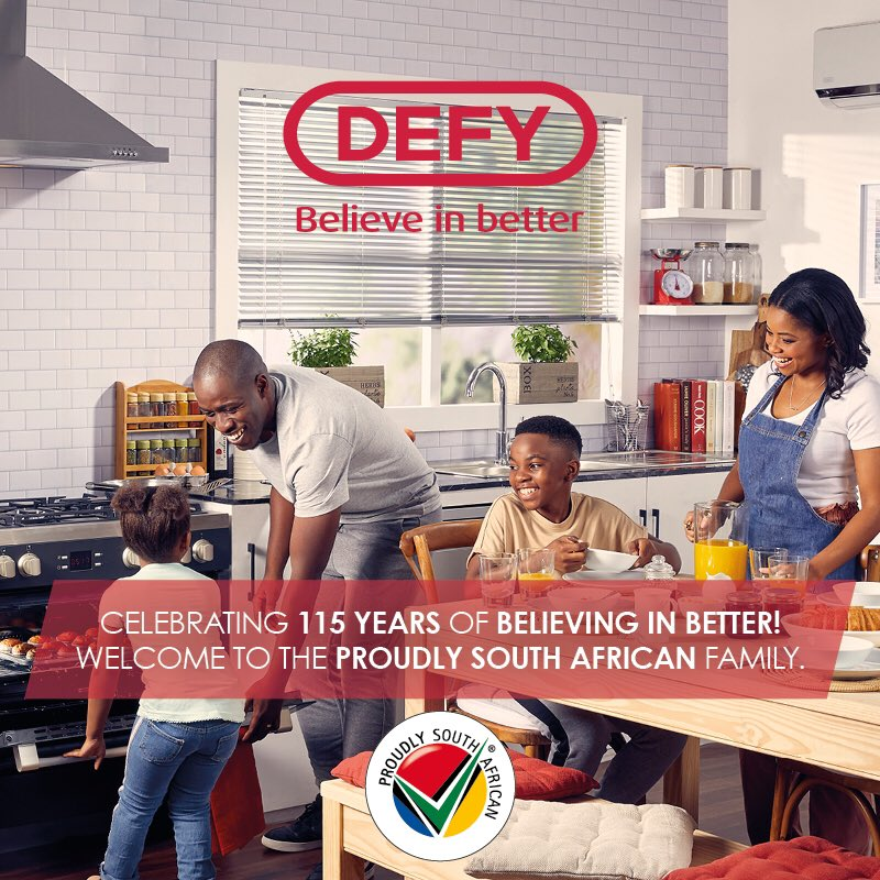 Welcome on board @Defy_SA ! https://t.co/rHd3cBwVsU