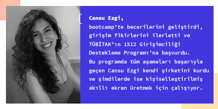 Bu hafta Kodluyoruz Mezunlar Kulübü'nden Cansu Ezgi Yaltay'ın hikayesini dinliyoruz. #GeleceğiKodluyoruz #KadındanYazılımcıOlurpic.twitter.com/HtwMVNkY3D