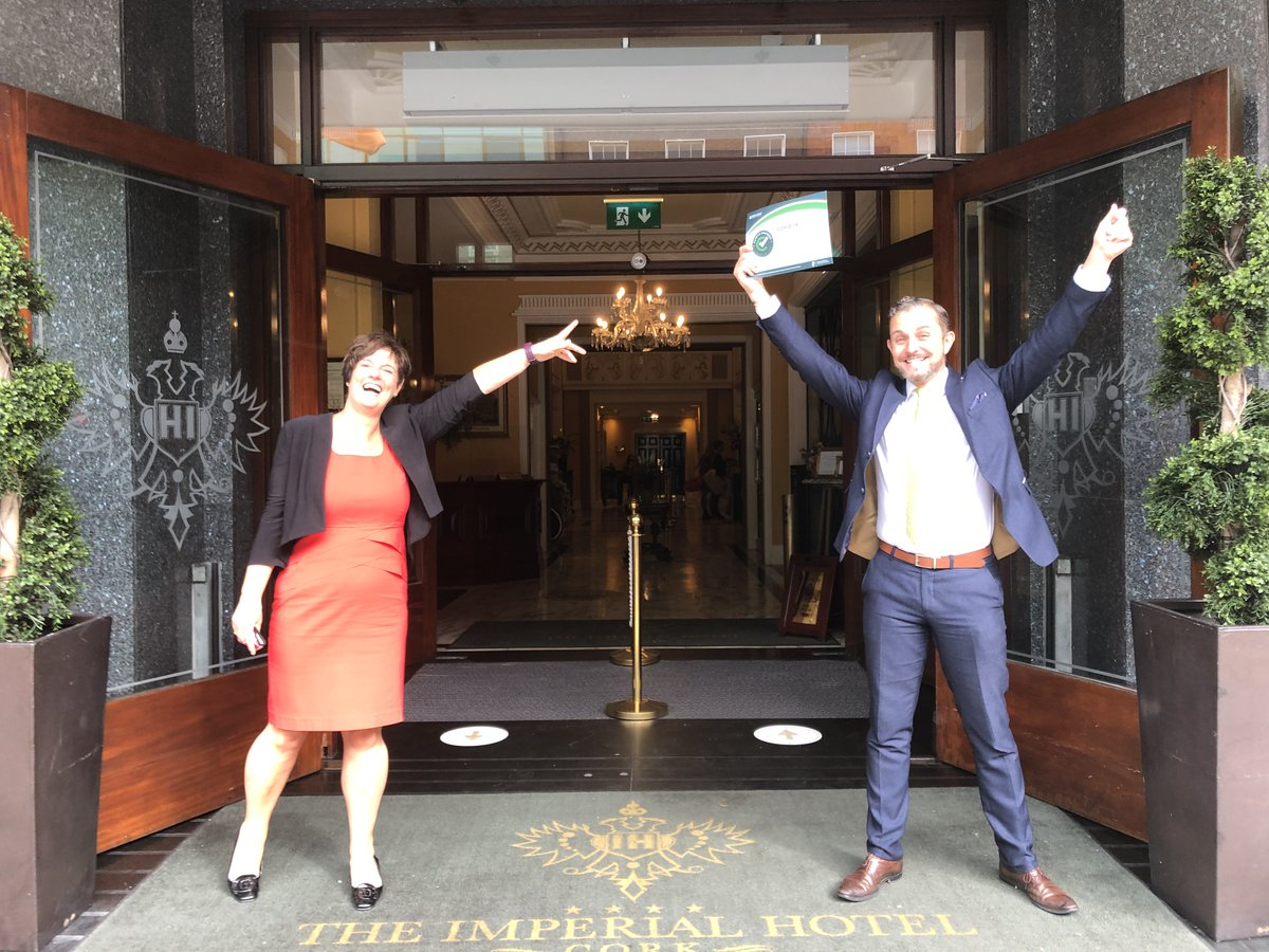 Our Director @jdesaulles carried out some Covid-19 Safety Charter checks in #Cork & was very reassured to see the high standards of safety, cleaning & top class customer service @MetropoleCork @RochestownPark @ImperialCork #JamesonMiddleton   Sign up today https://t.co/52AIhSfqqQ https://t.co/5KWj1S7dHS