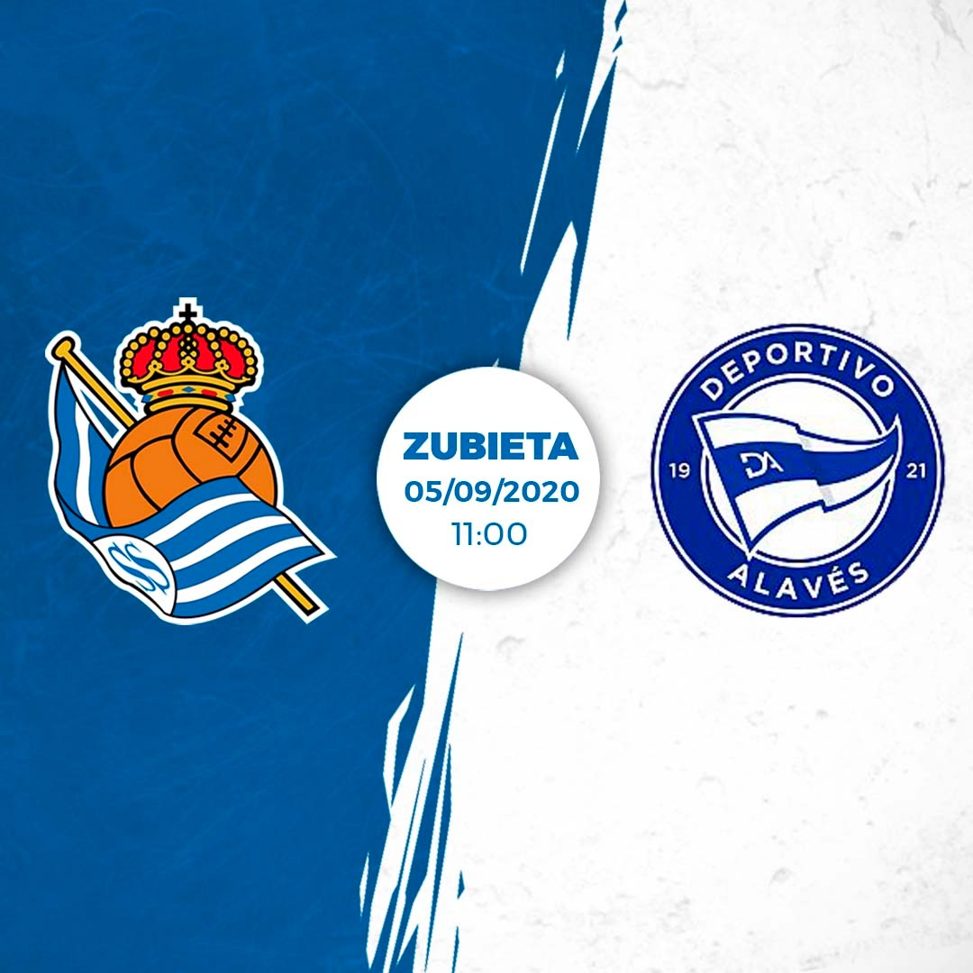 ℹ Pre-season is taking shape! Real will face @Alaves at Zubieta on September 5 at 11:00! The encounter will be broadcast by Real Sociedad TV.  #AurreraReala https://t.co/fg4BXW0C6y