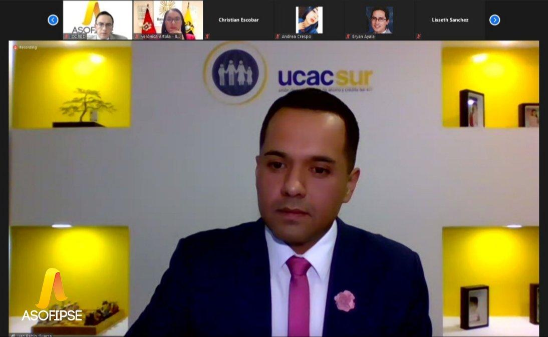 """""""GRACIAS, por creer en nosotros, por el apoyo y respaldo brindado. Juntos Hacemos Cooperativismo""""  Juan Pablo Guerra, Gerente de @UCACSUR . https://t.co/Tc7EZZ6eYV"""