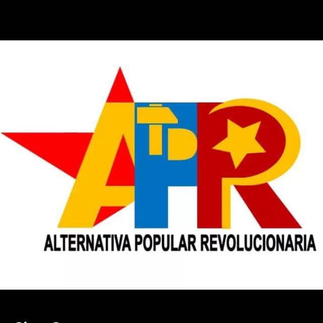"""Francisco Piñero on Twitter: """"Quieren atacar la Alternativa Popular  Revolucionaria golpeando al Partido Patria Para Todos. Y no se dan cuenta  que lo que se le viene es una marea militante que"""