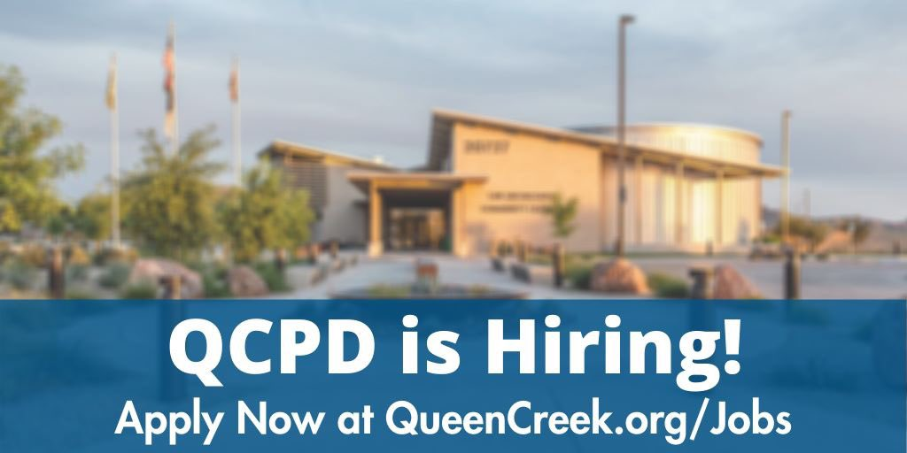 Town Of Queen Creek On Twitter Did You Hear Our Queen Creek Police Department Is Hiring For Lieutenants Administration Positions Check Out The Independent News Media Article Https T Co Zjwbnd6oqu Additionally The Town