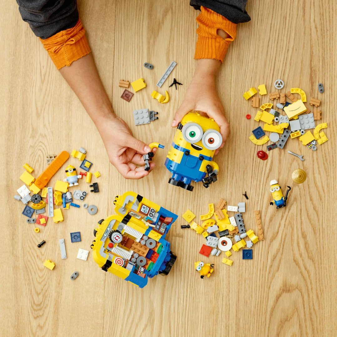 Kids who love Minions will go wild for this LEGO® building toy for kids (75551). ⁣#Lego #Minions #JrToyCompany  ⁣ 🧱 https://t.co/BbVmRCj21a https://t.co/OKqvjnCh9V