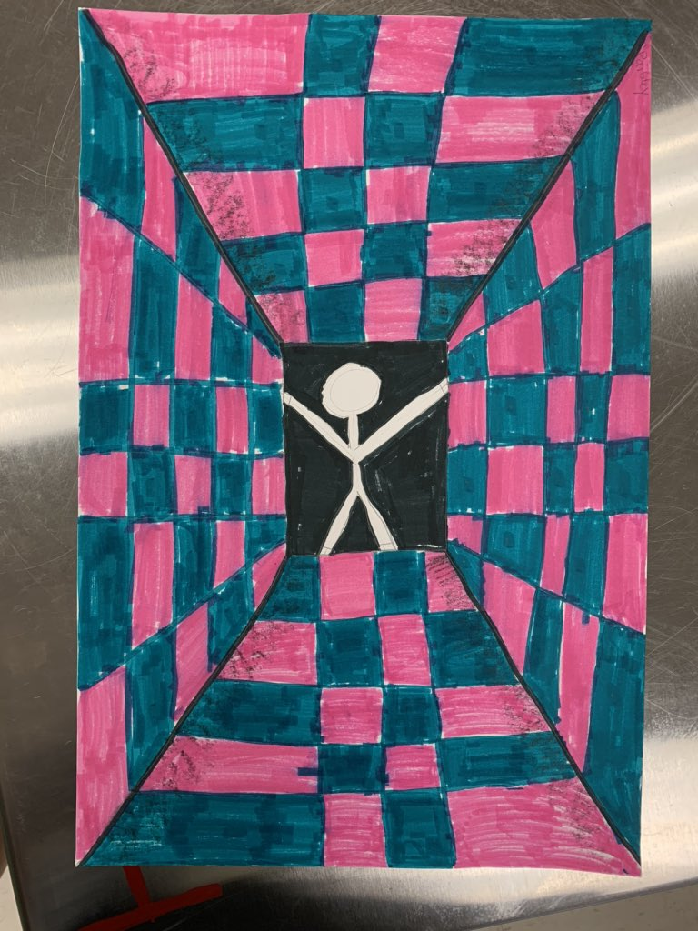 Op Art Shiloh Stlye @ShilohPointES #ShilohShines #ForsythFineArts