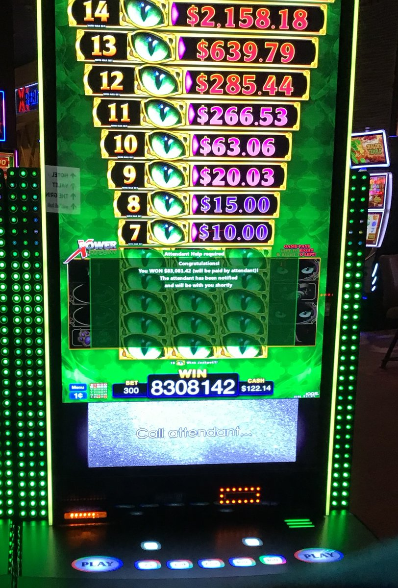 🤑🎰💸Congratulations to all of our jackpot winners in August! This month, one lucky winner hit an $83,000 jackpot on Cats Eyes 9 Lives! 🎉🎉🎉 https://t.co/CsMqNKHEOA