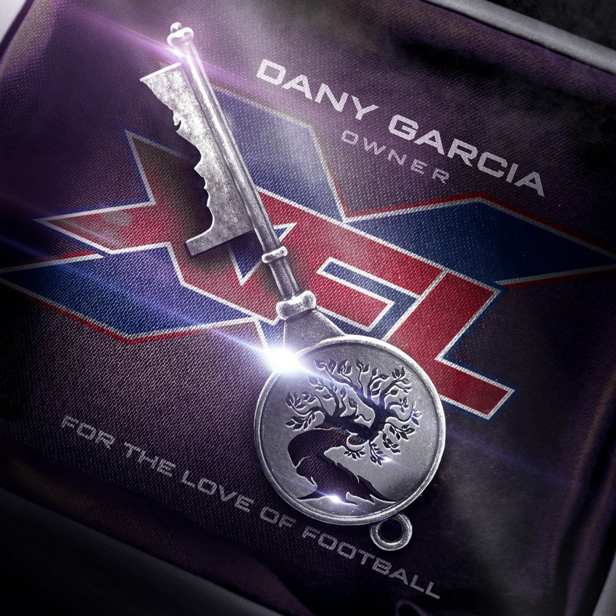 The @xfl2020 officially joins @GarciaCompanies portfolio today, making @DanyGarciaCo the first woman to own an American major professional sports league.