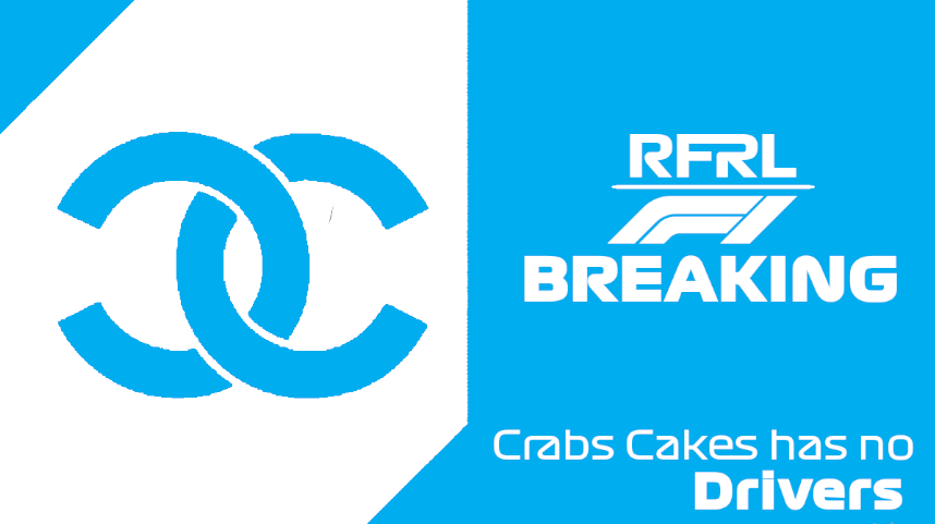 """#RFRLBREAKING Crabs Cakes Racing has lost all of their drivers ahead of the #UnitedStatesGP. Team boss Penut on the matter """"Crab Cakes as a team was healthy, now we must try to restore that health."""" https://t.co/K5lFDeiAgf"""
