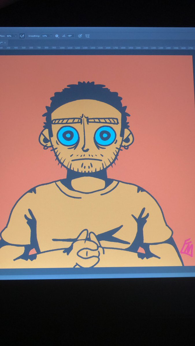 New icon looking kinda good not going to lie! #art #digitalart #digitalpainting #artist #studentartist https://t.co/6BbkZxk4pZ