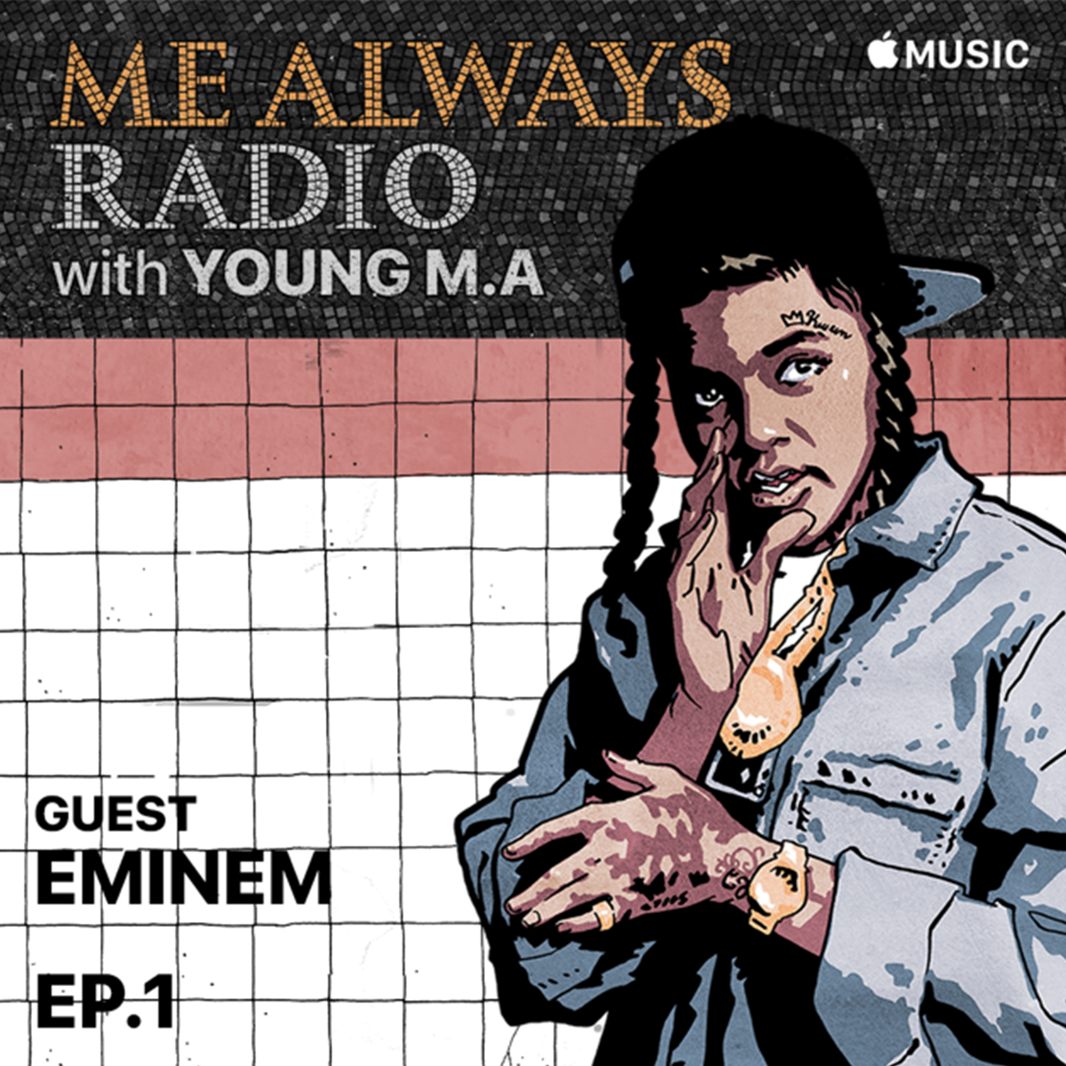 Honored to be @YoungMAMusic's first guest on her new radio show- check it out! @applemusic