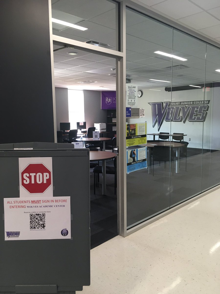 The Wolves Academic Center is open for student-athletes! Sanitize and social distance...you MUST sign in before entering. QR code's are posted outside the WAC #hearthehowl