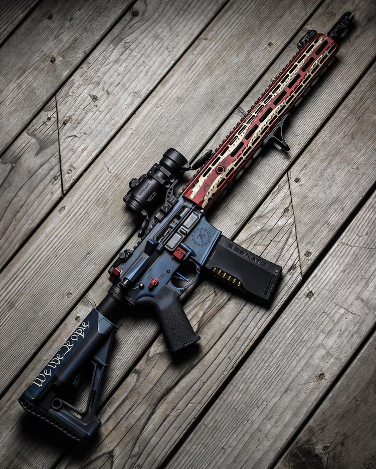 The most American gun there is 🇺🇸 📸: @AR15News #TacticalGear https://t.co/J7Hr6iDL9h