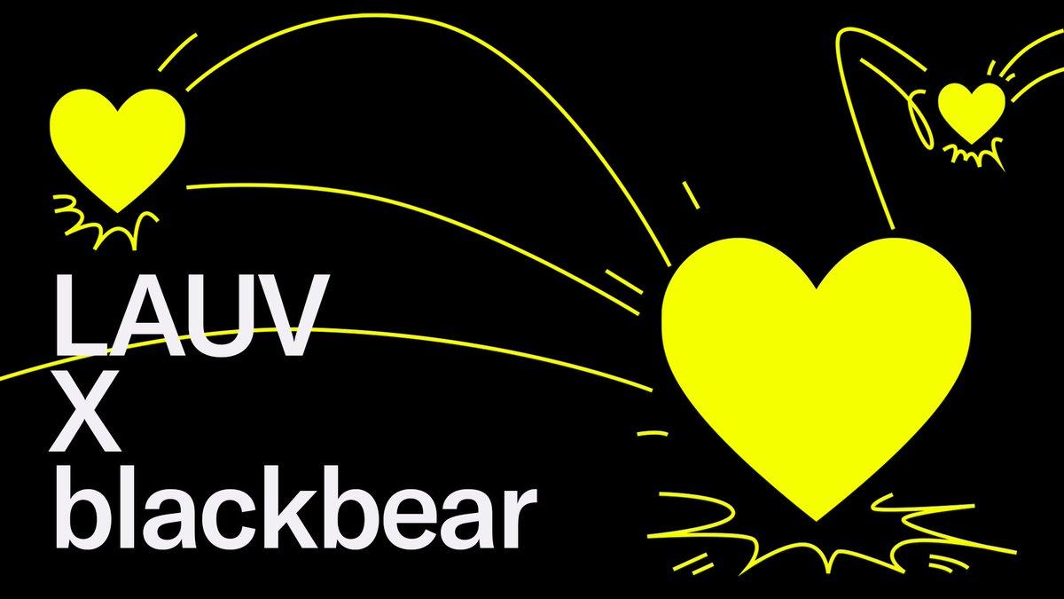 me n @iamblackbear like these songs hehehe lauv.lnk.to/lauvx