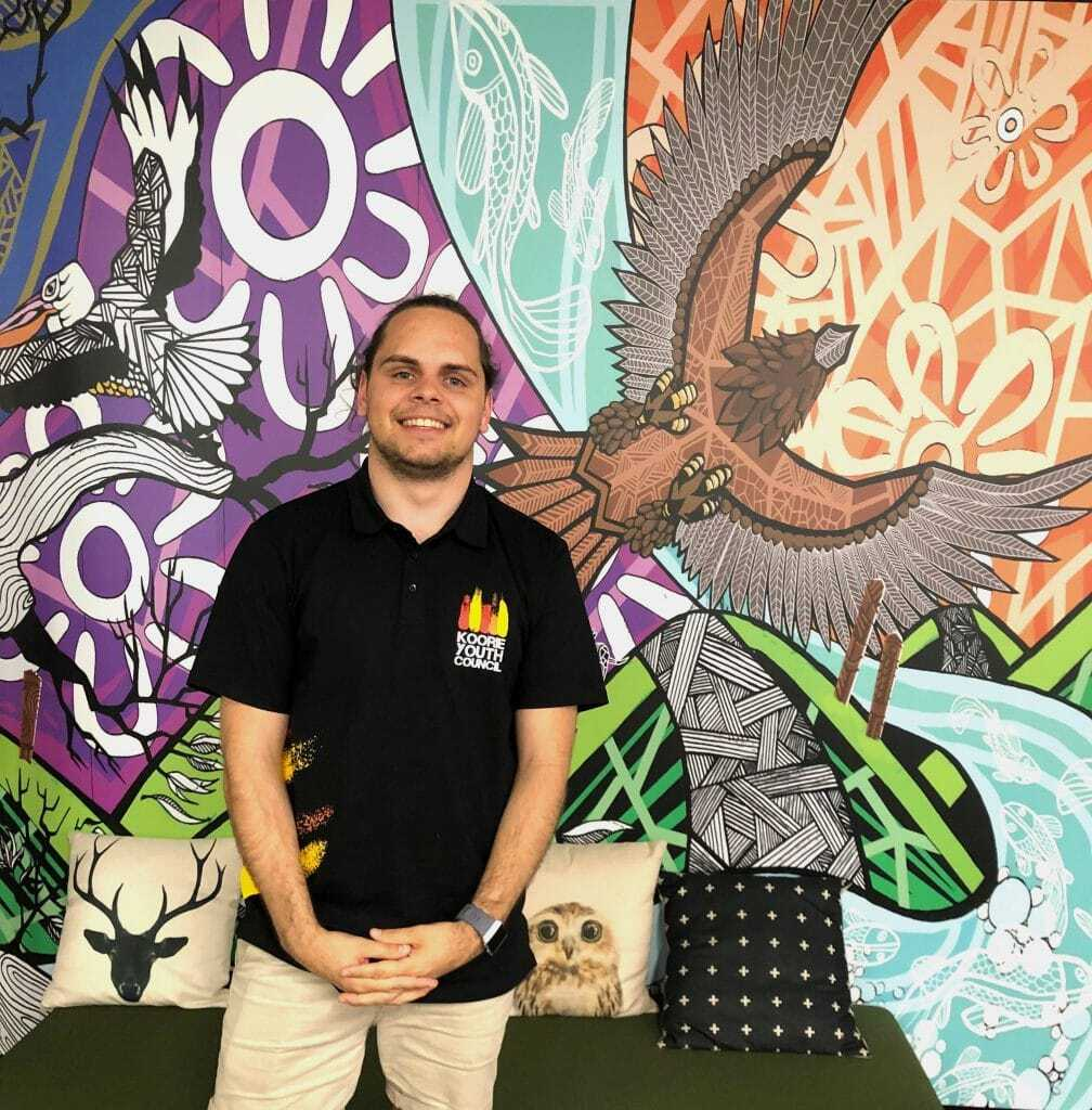 Douglas Briggs is a Yorta Yorta/Wurundjeri man, and the Policy and Advocacy Officer for the Koorie Youth Council @KYC_Vic who is passionate about education and justice reform for young people. Hear his perspective on @inmyblooditruns TOMORROW 6-7.30pm https://t.co/9DVyVHnIyI https://t.co/PFuybuyaPU