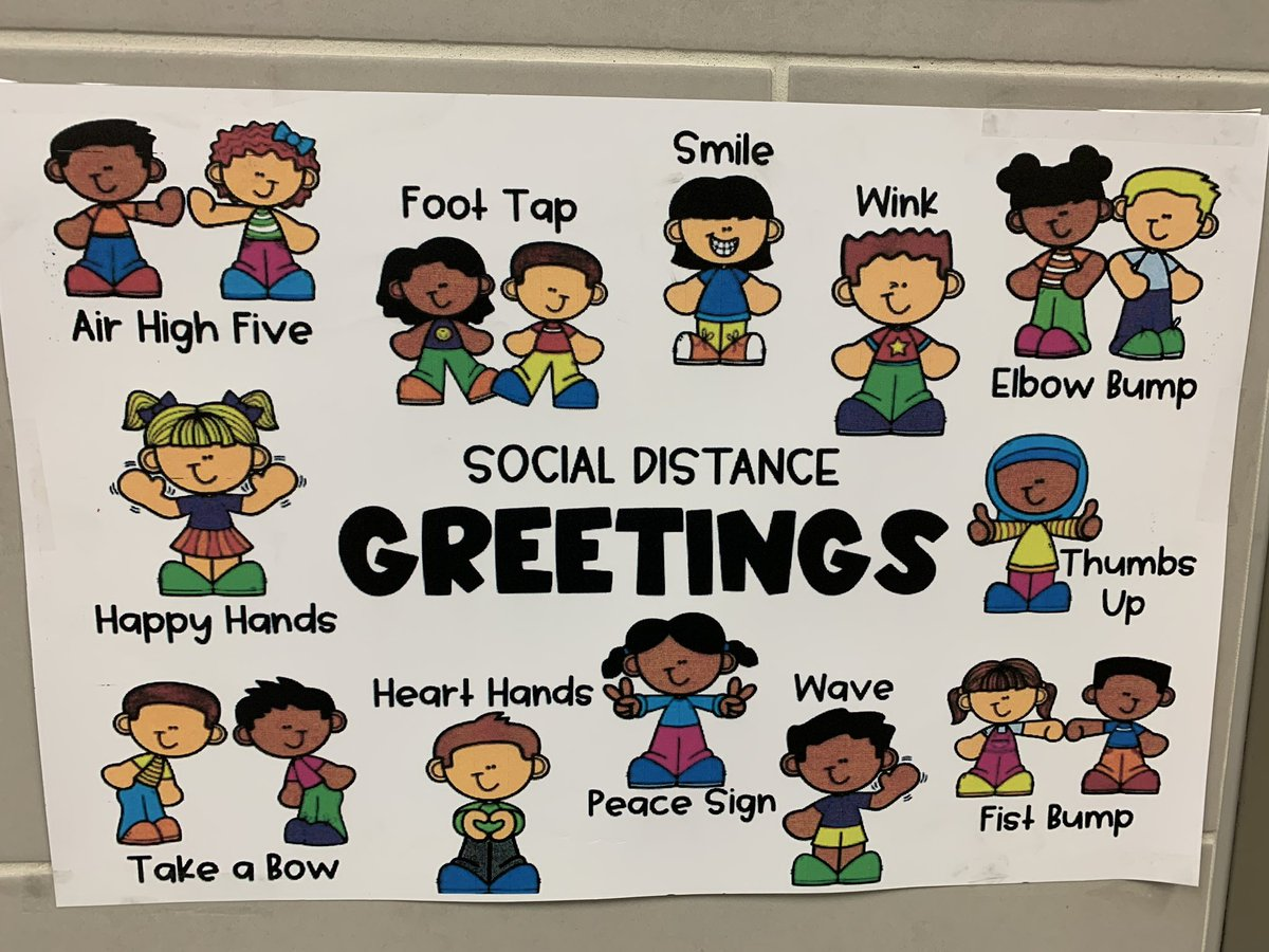 LOVED these Social Distance Greetings from @baxter_elem 2nd grade team! So creative and FUN! #misdproud