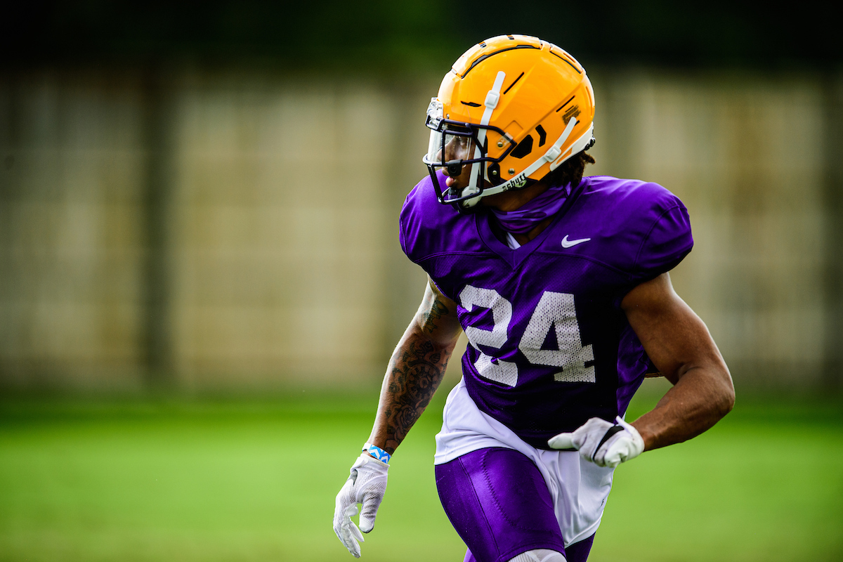 Day 3 of fall camp. Pics courtesy of LSU. https://t.co/wDV1RDmo9E