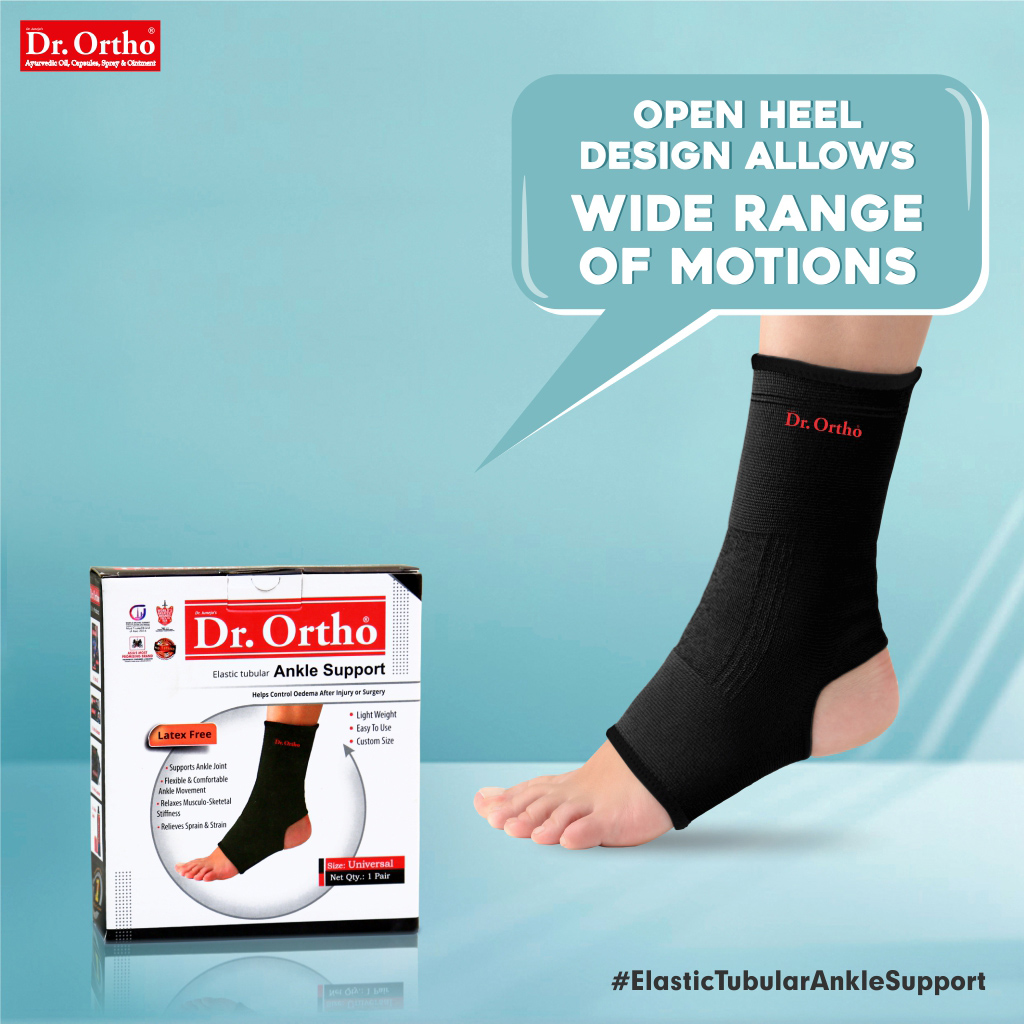 👉 Dr. Ortho Elastic Tubular Ankle Support is made with open heel design that allows various movements and a wide range of motions easily.  ✅ Shop Now: https://t.co/qP3CBhRUeL . . #drortho #anklesupport #anklepain #anklemobility #acuteanklesprain #ankleinjury #anklepainrelief https://t.co/mePzsXrVwz