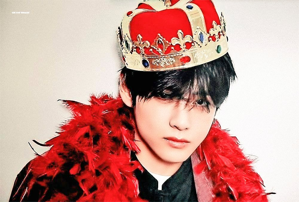 Our King Taehyung 🤴👑#Taehyungking #bts #btsarmy #taehyung https://t.co/zUG5ZUpclm