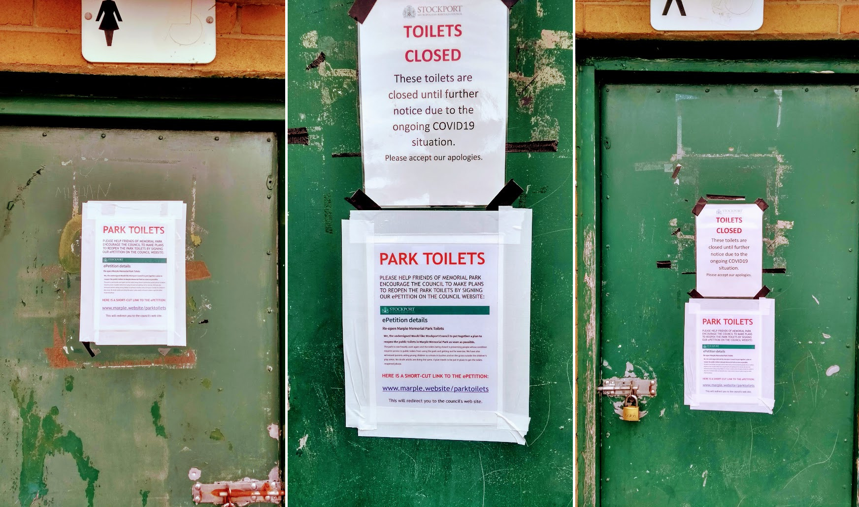 Keeping the Park Toilets Open