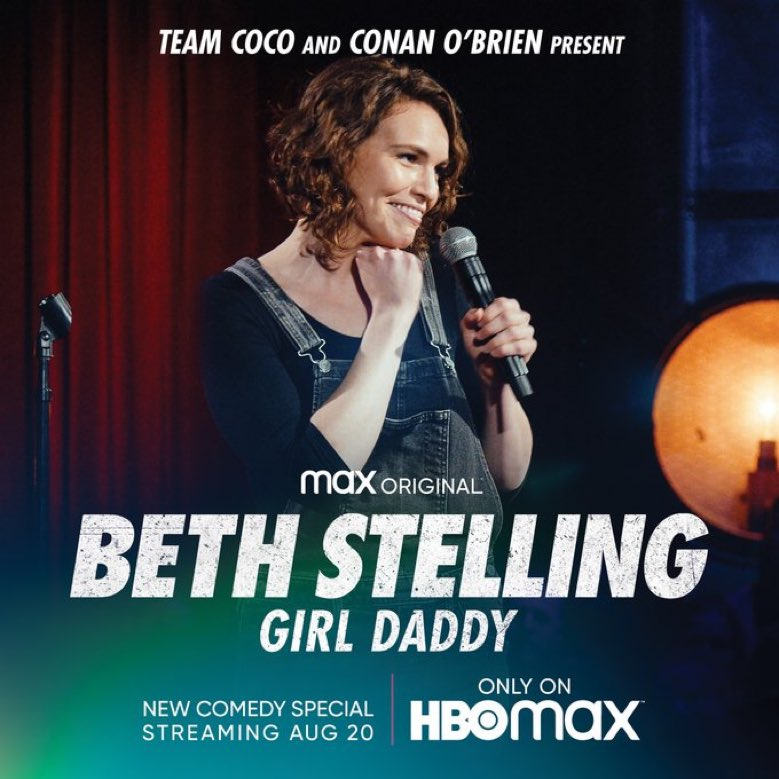 I've been waiting a long time for this one. So excited to see this comic destroy her hour special on @hbomax congrats to my friend @BethStelling !! https://t.co/HoEtVqz3aZ
