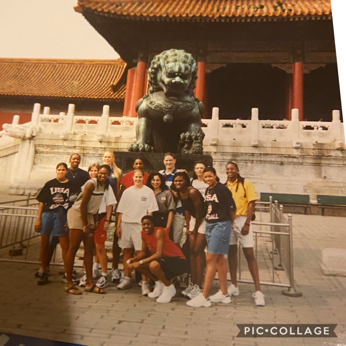 TBT 1998 USA 🇺🇸 Jones Cup Team Champions #GreatWallOfChina #Taiwan #Japan @BeckyHammon @Catchin24 @SRLay_21 @Coach_E_B @