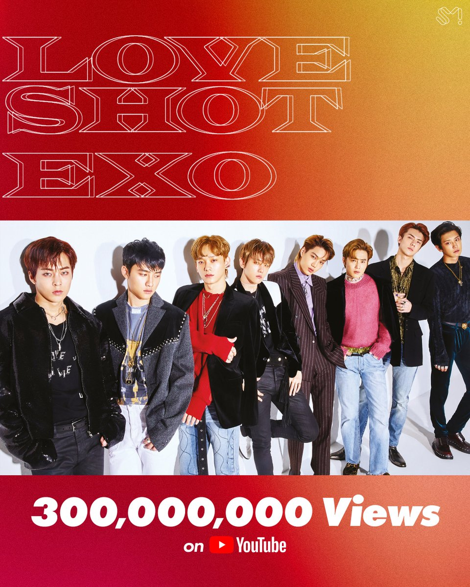 "RT weareoneEXO ""EXO의 'Love Shot' 뮤직비디오 유튜브 조회수 3억뷰 돌파!🔥🎉  EXO's 'Love Shot' MV has surpassed 300 Million views on YouTube!🔥🎉  🎬 https://t.co/fTVNPRUI0q  #어디에도_없을_완벽한_EXO #엑소 #EXO #weareoneEXO #러브샷 #LoveShot https://t.co/WuSPbktiLB"""