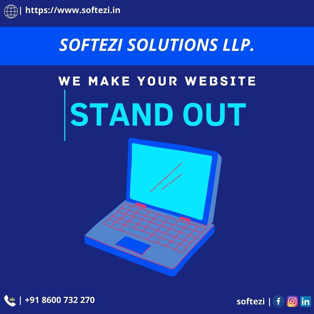 We make your website stand out. #softezi #softezisolutions #softezisolutionsllp #erpsolutions #ecommerce #webdevelopment #websitedevelopment #mobileapplicationdevelopment #desktopapplication https://t.co/CQI3D3aN5t
