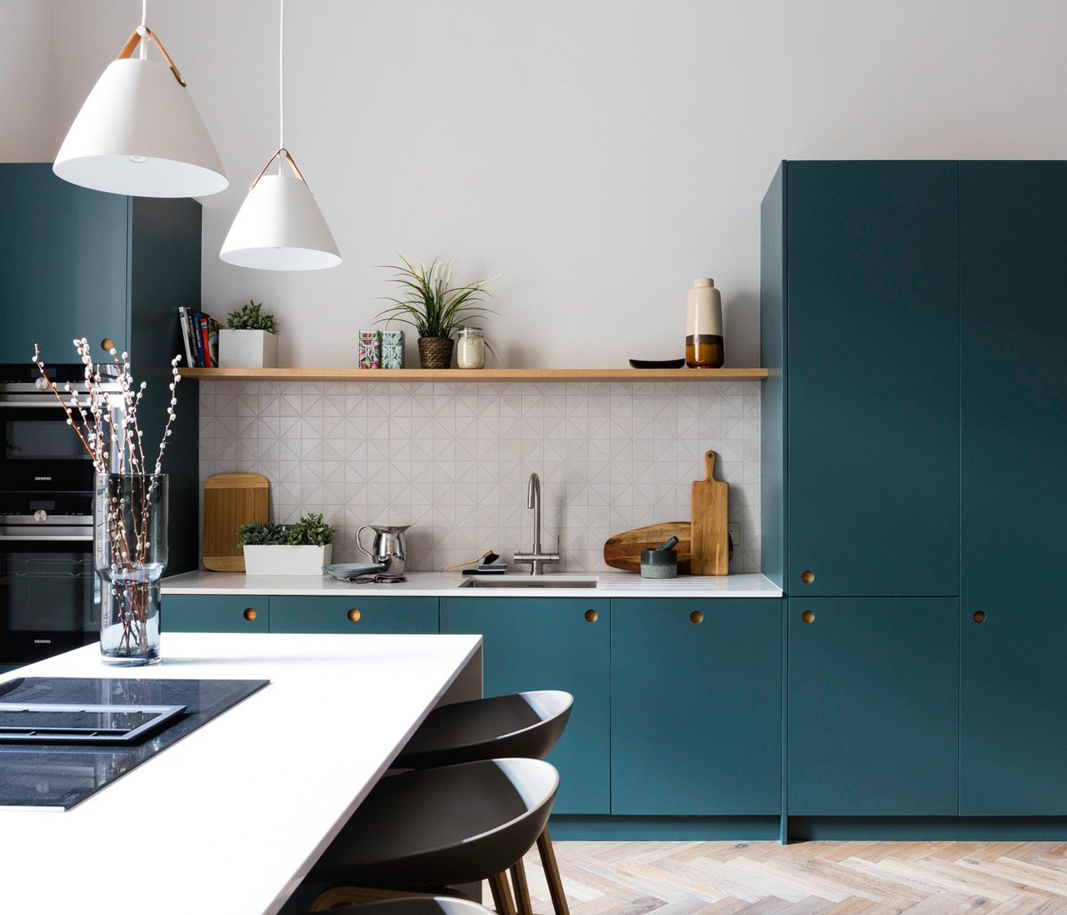 Naked Kitchens On Twitter Open Shelving Is A Wonderful Alternative To Wall Cabinets It Can Be A Great Way To Break Up Darker Coloured Cabinetry To Keep A Room Feeling Open