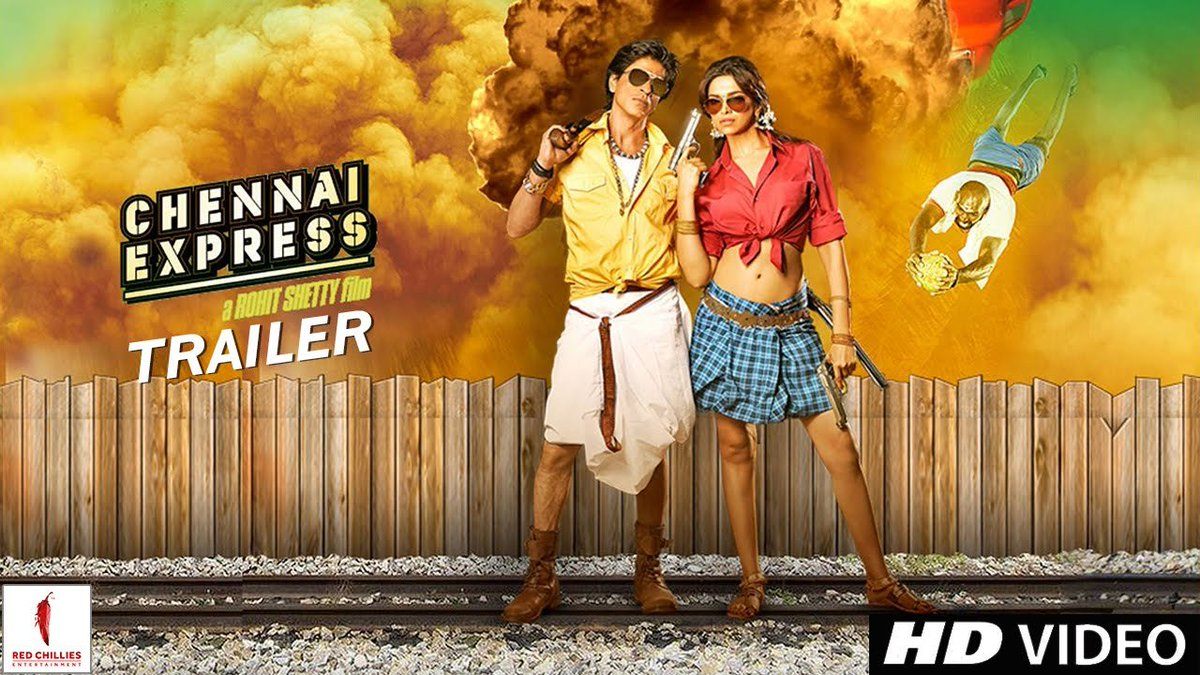 #ChennaiExpress  Movie : Chennai Express Year : 2013 Language : Telugu+Tamil+Hindi+Malayalam Link : https://t.co/emePAoPCg5  #sharukhkhan #DeepikaPadukone #NikitinDheer #satyaraj #laktandon #bollywoodmovies #dubbedmovies #latestmovies #telugurockers #movierulz #movie #netflix https://t.co/gY8SzKMVJB