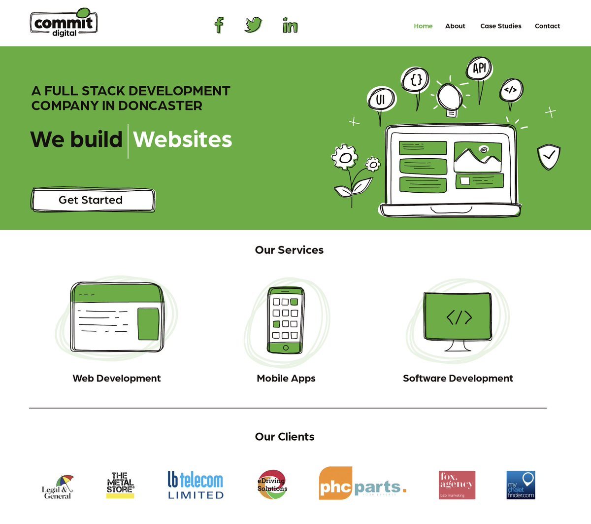 Website design created for a local software company in Doncaster. Using a consistent theme the website takes on  elements of the logo to help keep the brand identity consistent. #Website #Webdesign #GraphicDesign #GraphicDesigner #Doncaster #doncasterisgreat #localbusiness