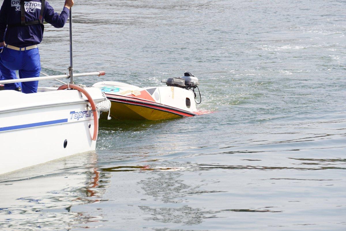 レース 事故 ボート