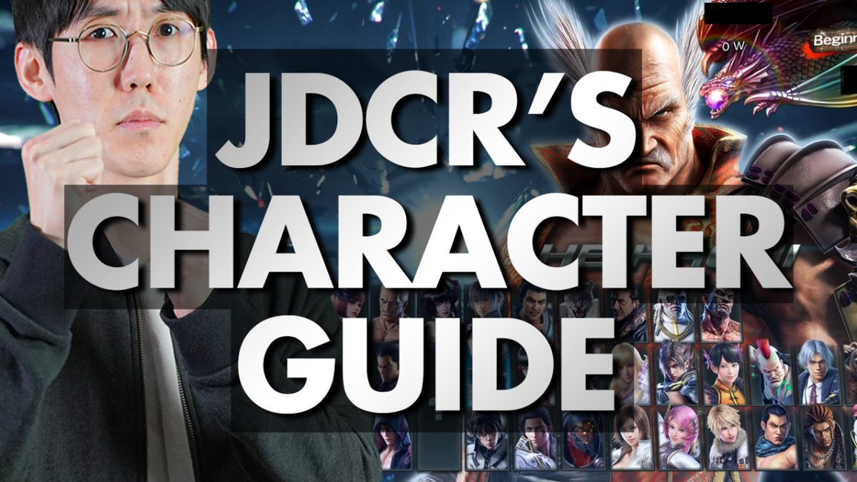 Jdcr On Twitter I Ve Uploaded Beginner Guide To Tekken 7 The First One Is About What Character I Recommend For Beginners And I Don T Hope It Helps Https T Co Djgdvlkgmb Https T Co P9lhl7fyko