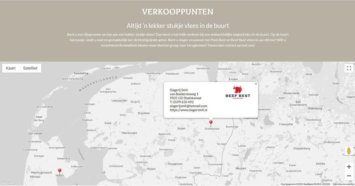 Met trots presenteren wij u de eerste Beef Best dealer in de provincie Groningen: Slagerij Smit te Stadskanaal – https://t.co/gBJpxnihLZ  Wij wensen jullie heel veel succes met de verkoop!  In het kort: verantwoord, gezond en smaakvol! Meer weten? https://t.co/uo0PG9iodr