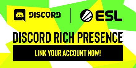 In partnership with ESL Play, Discord now allows you to display your ESL tournament status. Link your account now!   More information: https://t.co/a370qd0c6M  #Discord #ESL #Esports https://t.co/NRFDoFLbsB