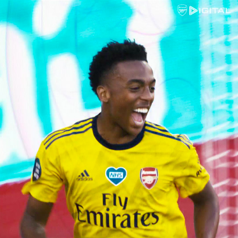 Replying to @Arsenal: One of our own. And he's just getting started.  💛 @JoeWillock