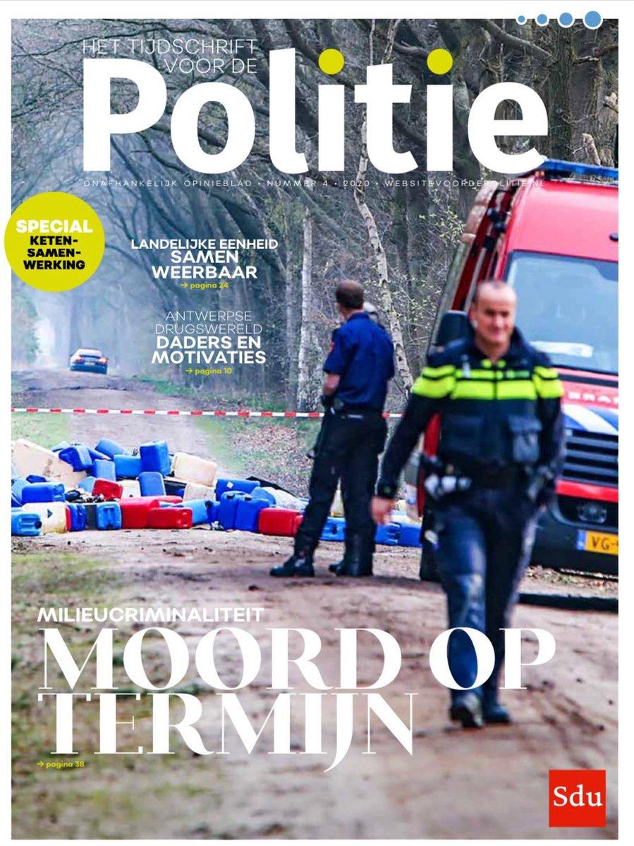 'Milieucriminaliteit is moord op termijn' zegt Marjolein Smit van @Politie in interview met Magazine van Politie. Ze vindt dat bestrijding meer ruimte en middelen verdient. https://t.co/5HHhU2Wjmk https://t.co/otwbGoVGMb