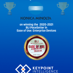 Image for the Tweet beginning: A GREAT job by @KonicaMinoltaUS,