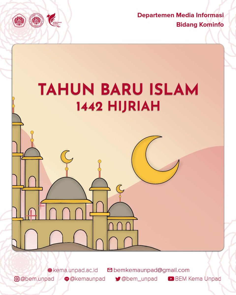 Bem Kema Unpad On Twitter Tahun Baru Islam Halo Kema Unpad Tahun Baru Islam Menjadi Momentum Terbaik Untuk Memperbaiki Diri Supaya Menjadi Pribadi Yang Bermartabat Dan Bermanfaat Selamat Tahun Baru Islam 1