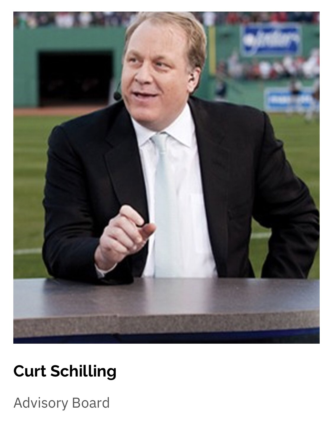 Curt Schilling Arrested