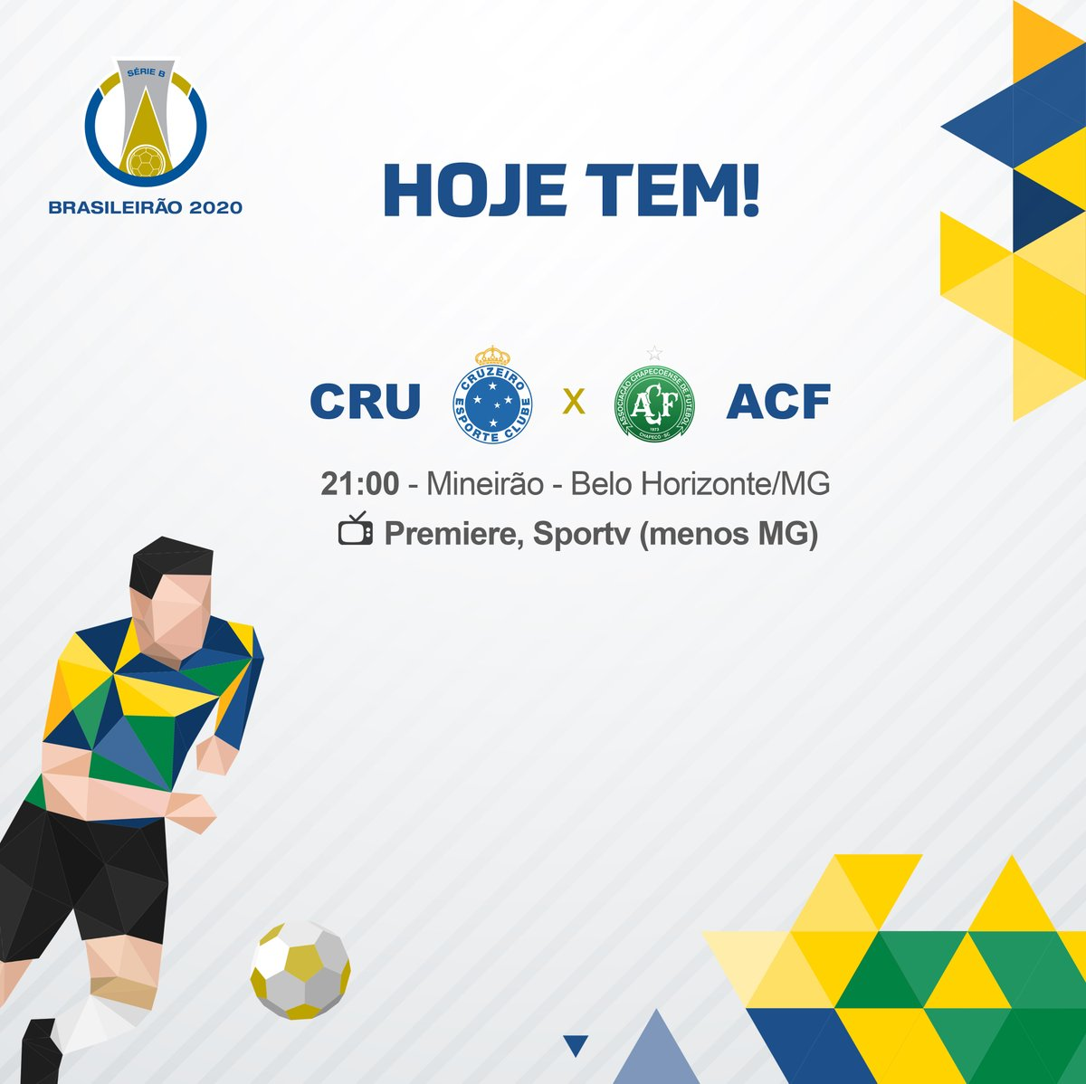 Brasileirao Serie B On Twitter Hoje E Dia De Cruzeiro E Chapecoense Fecharem A Rodada Do Brasileiraob Os Dois Estao Colados Na Tabela E Os Tres Pontos Valem Ouro Para Encostar