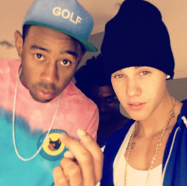 Tyler, The Creator and Justin Bieber