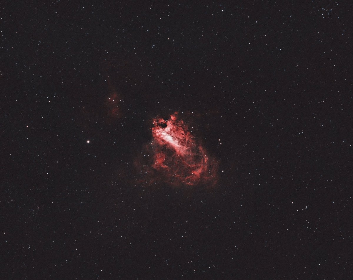Another test of the Big Sister. Now, I focused on the Omega Nebula (bicolor). Gear: SW ED80, ZWO ASI1600MM-Cool Subs: Ha 75x40sec, O3 80x40sec #astrophoto #Astrophotography #nebula #zwoasi #zwo #skywatcher #messier17 #deepsky #astronomy #bicolor #Slovakia https://t.co/KqtbviBs16