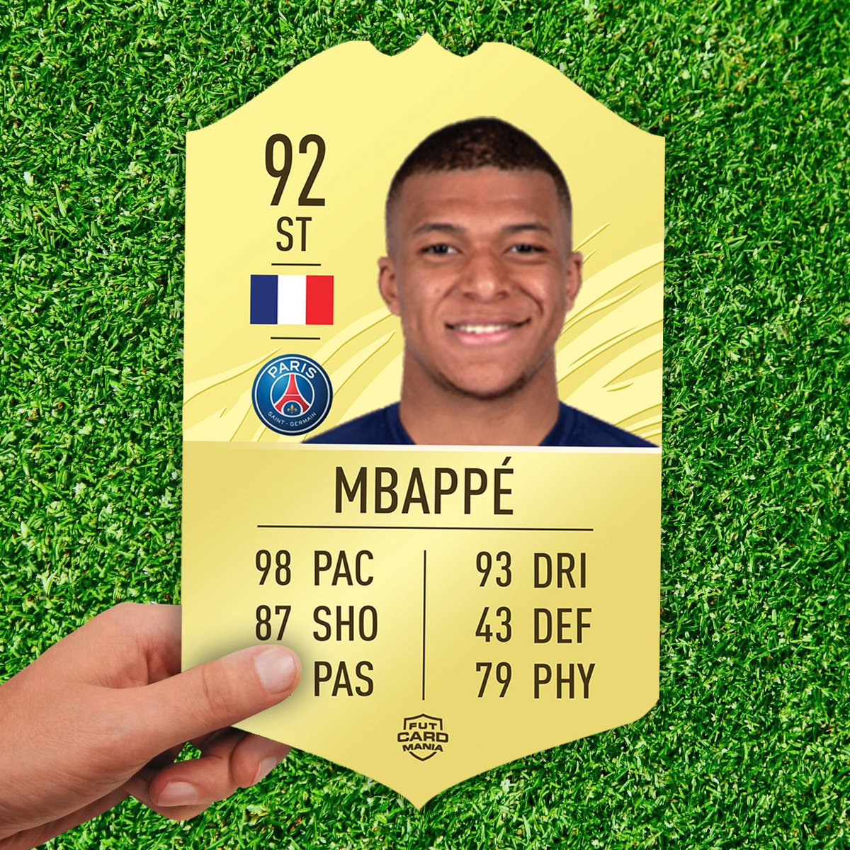 ⚽️GIVEAWAY⚽️  We're giving away this 2021 Mbappe card🔥  To Enter ❤️ Like This Tweet 🔄 RT This Tweet ✅ Follow @FUTCardMania   Winner Announced 22nd August💥 https://t.co/6IBZ95dPy2