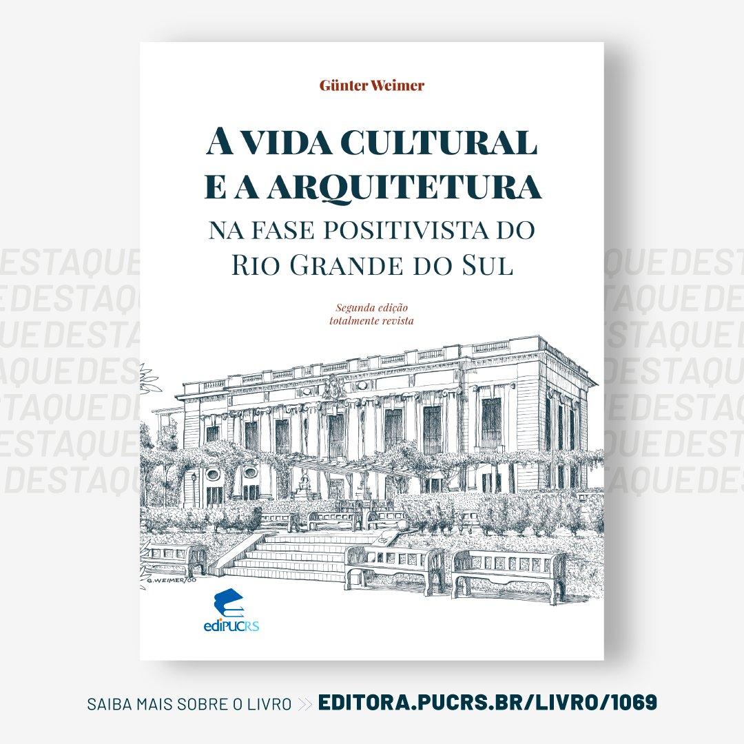"""A vida cultural e a arquitetura na fase positivista do Rio Grande do Sul""📚Acesse: https://t.co/VzdUYJPGTc https://t.co/WNEifTzmFE"