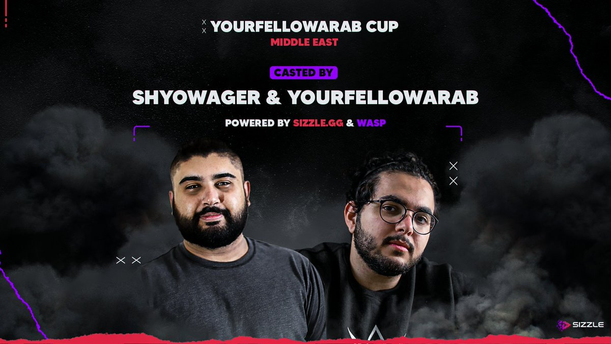 Playing  the finals  @YourFellowArab cup  Powered by https://t.co/XHyOQHl2Pq  @sizzlegg  @eSportsWASP  Casted by :  @ShyoWager  and  @YourFellowArab  Tournament will be starting at 5:30 pm KSA on Tuesday 25th August 2020. https://t.co/xPEyzqB3eA
