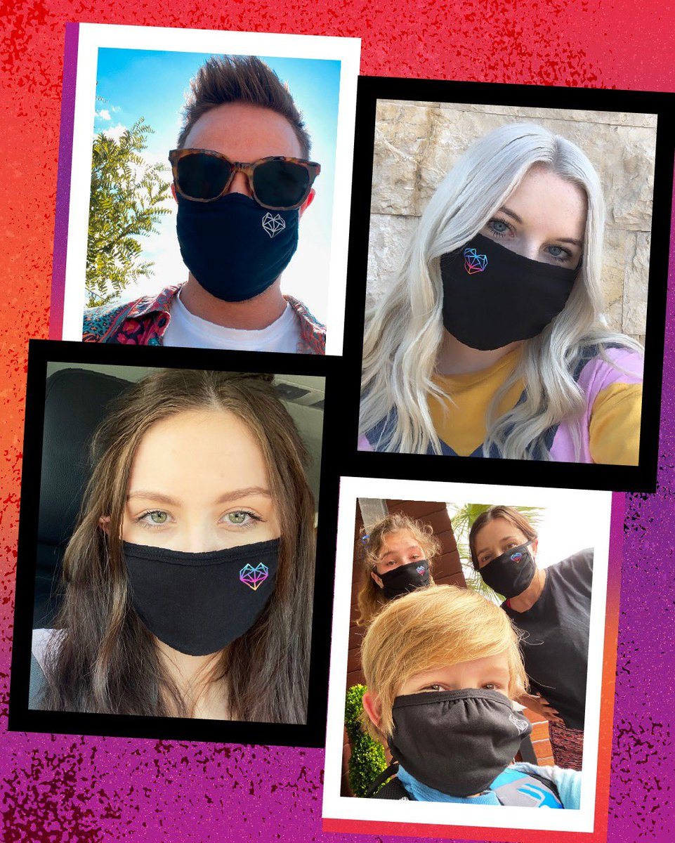 #LOVELOUD masks are still available in our store! #DidYouKnow that you can now select the option to donate a mask to homeless #LGBTQ+ youth when you order a mask of your own? Visit https://t.co/jzbgL2Uwln, then make sure to show us your best looks in your mask. https://t.co/EetixXCfjp
