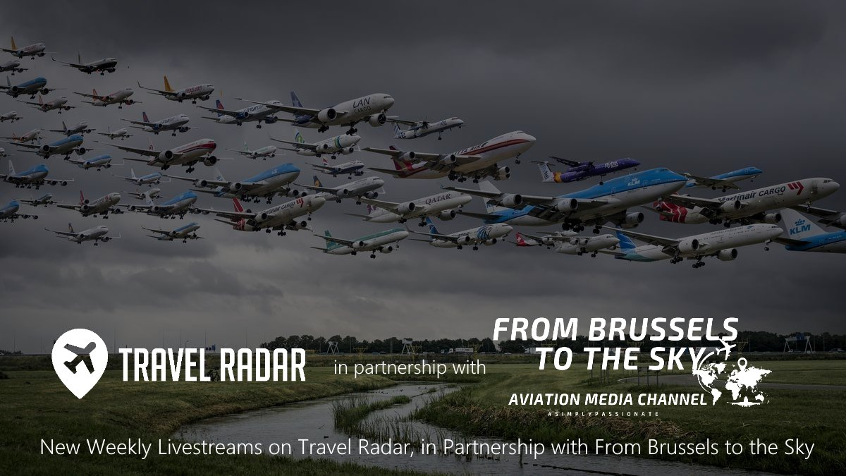 Are you following us on Facebook yet? 👀  We're proud to announce a new partnership with 'From Brussels to the Sky' - A new partnership bringing weekly livestreams to our Facebook page weekly! If you're not following us yet, maybe now's the time 😁  #PlanespottingLive #TRLive #TR https://t.co/YG9GY11pPx